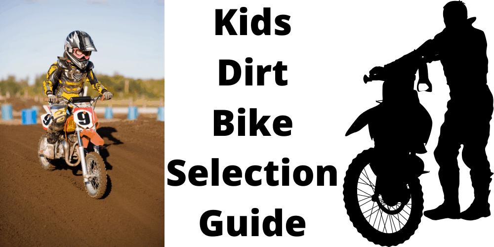Children's dirt bike seat height